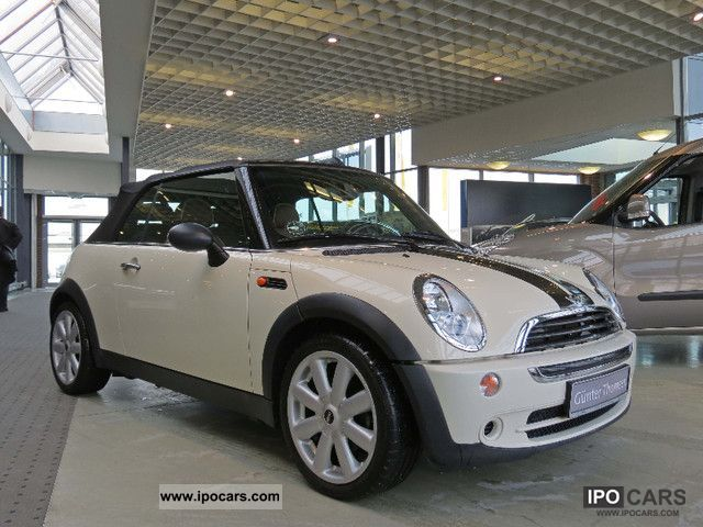 2008 MINI  1.6 Convertible + leather + Cabrio / roadster Used vehicle photo