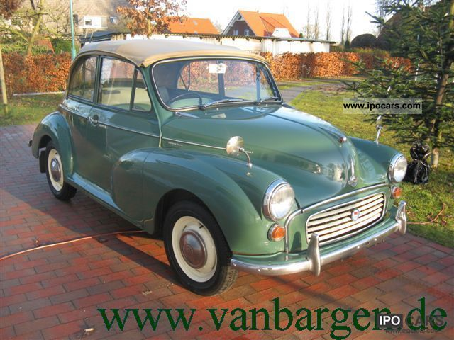MINI  Morris Minor Convertible 1965 Vintage, Classic and Old Cars photo