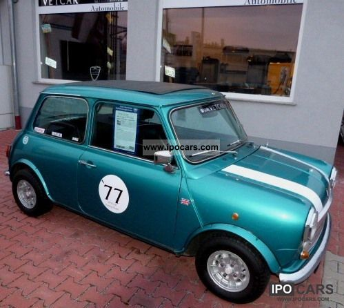 MINI  1977 Cooper S leather new 10 \ 1977 Vintage, Classic and Old Cars photo