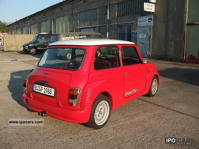1988 Mini Mini Grand Prix Limit Edition 500 Pieces Car Photo And Specs