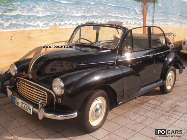 1957 MINI  Morris Minor Cabrio / roadster Used vehicle photo