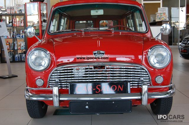 MINI  Woody Austin Mini Traveller Countryman 1963 Vintage, Classic and Old Cars photo