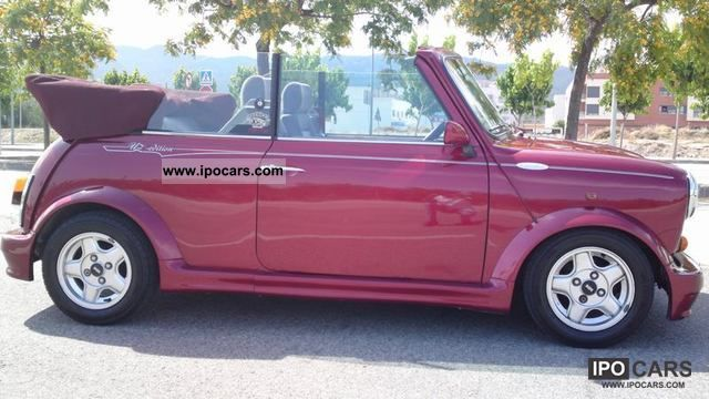 1995 Mini Cabriolet Car Photo And Specs