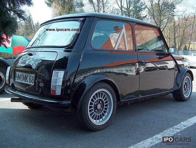 1987 mini austin 1 3 club sport car photo and specs. Black Bedroom Furniture Sets. Home Design Ideas