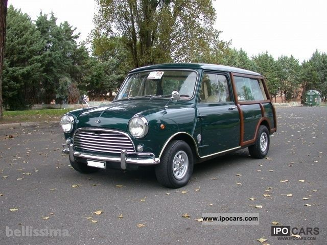 MINI  Cooper Clubman travelers 1967 Vintage, Classic and Old Cars photo