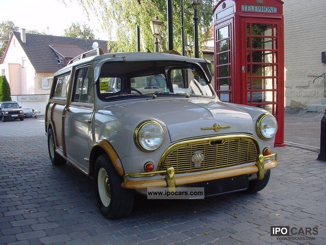 MINI  Traveller Countryman * perfect * H Zul not you go 1962 Vintage, Classic and Old Cars photo