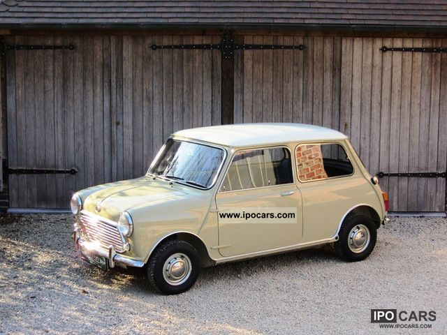 MINI  Mk2 Cooper S 1968 Vintage, Classic and Old Cars photo