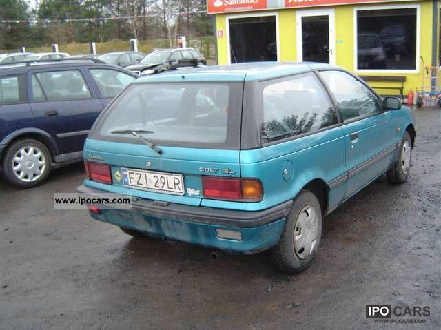 E85 Flex Fuel >> 1990 Mitsubishi Colt - Car Photo and Specs