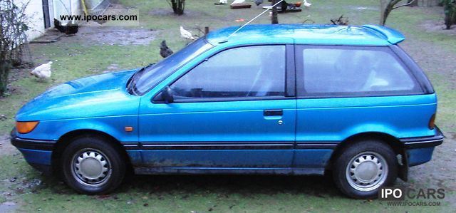 1991 mitsubishi colt glxi 1500 car photo and specs rh ipocars com