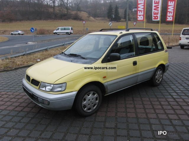 1996 Mitsubishi  Space Runner climate Tüv ZV 09/2012 sunroof Estate Car Used vehicle photo