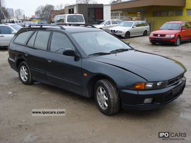 1999 Mitsubishi  Galant 2000 GLS climate Estate Car Used vehicle photo