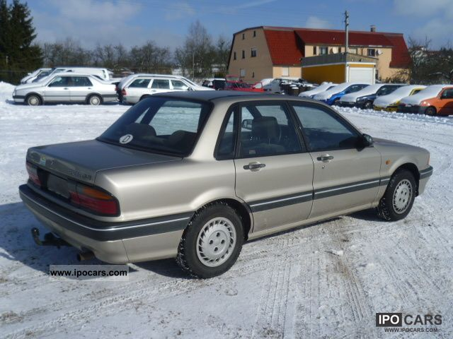 1989 Mitsubishi Galant 1800 GLS sedan \ - Car Photo and Specs: http://ipocars.com/vinfo/mitsubishi/galant_1800_gls_sedan_-1989.html