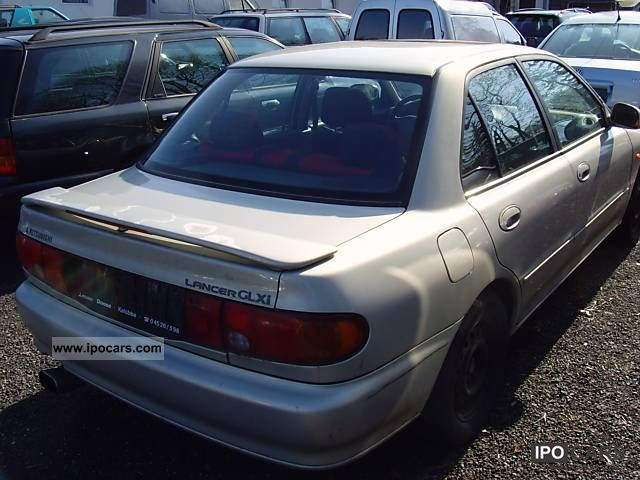 1995 Mitsubishi Lancer 1 6 Glxi Zv Power Electric