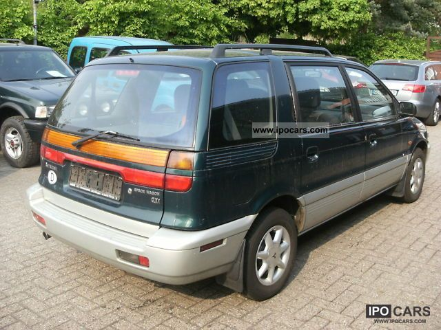 1997 mitsubishi space wagon glxi car photo and specs. Black Bedroom Furniture Sets. Home Design Ideas