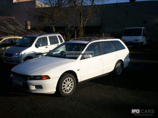 1998 Mitsubishi  Galant zarejestrowany, climate Estate Car Used vehicle photo