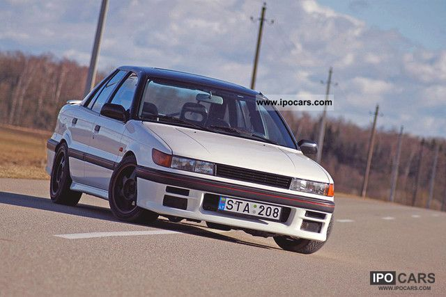 1991 Mitsubishi Lancer 1800 16V GTi - Car Photo and Specs