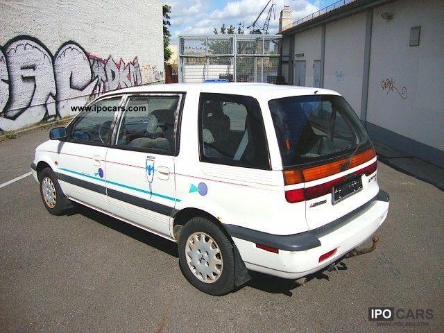 1992 Mitsubishi Space Wagon 1800 GLXi 4x4 wheel drive 7 seater petrol - Car Photo and Specs