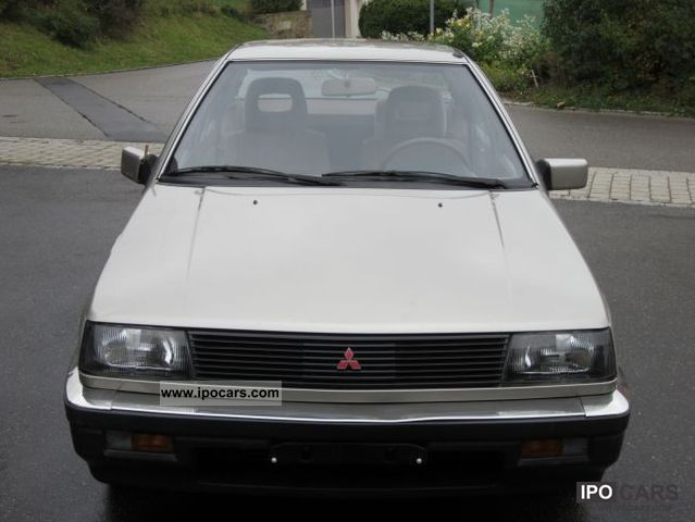 1988 Mitsubishi Lancer Glx 1500 Car Photo And Specs