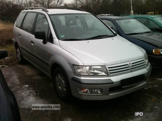 2000 Mitsubishi  Space Wagon GDI new timing belt Van / Minibus Used vehicle photo