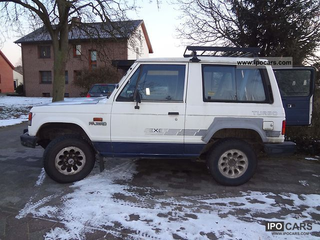 1987 Mitsubishi  Pajero 2.5TD saves E2, 540 € St! Max bid 30.03 Off-road Vehicle/Pickup Truck Used vehicle photo