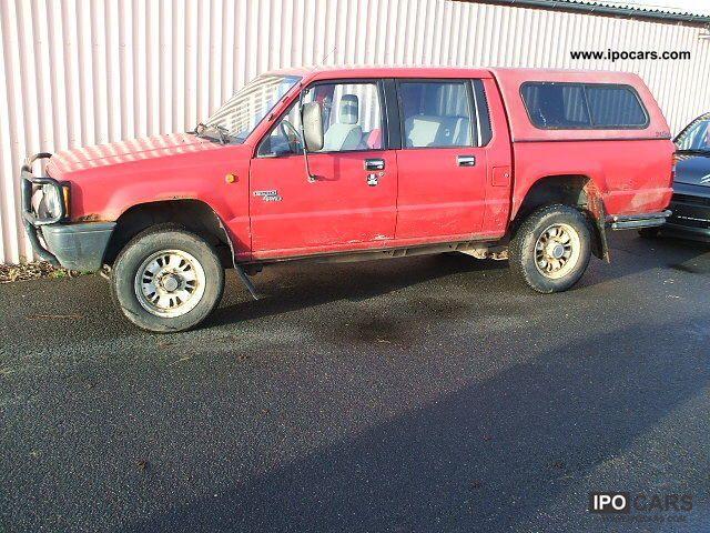 1995 Mitsubishi  L200 2.5 TD - Doka - 4x4 - APC - Hardtop - Off-road Vehicle/Pickup Truck Used vehicle photo