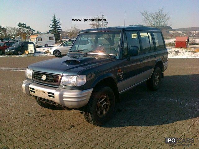 1998 Mitsubishi  Galloper 2.5 turbo diesel 5-door long- Off-road Vehicle/Pickup Truck Used vehicle photo