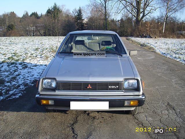 1982 Mitsubishi  Colt Limousine Used vehicle photo