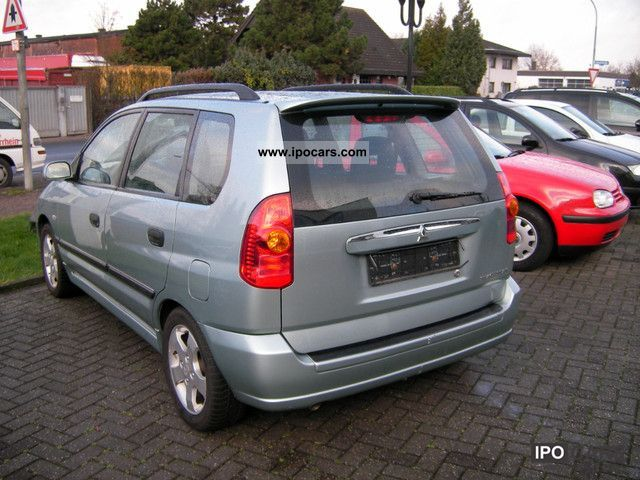 2003 mitsubishi space star 1 6 sport car photo and specs. Black Bedroom Furniture Sets. Home Design Ideas