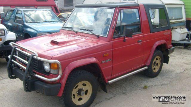 1989 Mitsubishi  Pajero 2500 Turbo Off-road Vehicle/Pickup Truck Used vehicle photo