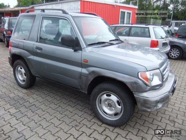 2002 Mitsubishi  Pajero Pinin 1.8 ** 1 Hand ** Off-road Vehicle/Pickup Truck Used vehicle photo