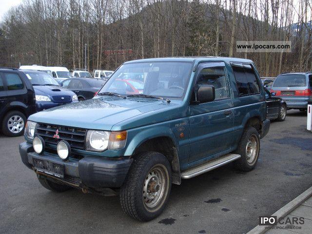 1998 Mitsubishi  Pajero 2500 TD GL Off-road Vehicle/Pickup Truck Used vehicle photo