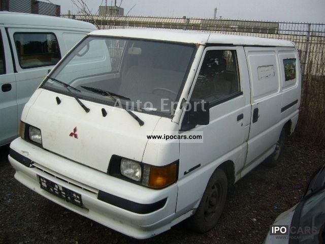 1991 Mitsubishi L 300 Box Van Minibus