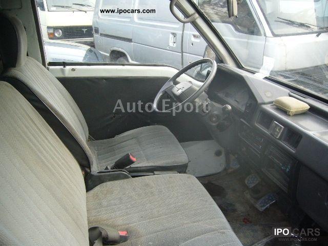 1991 Mitsubishi L 300 Box Van Minibus Used Vehicle Photo