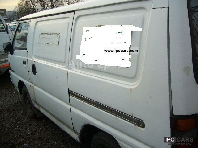 1991 Mitsubishi L 300 Box Van Minibus Used Vehicle Photo 4