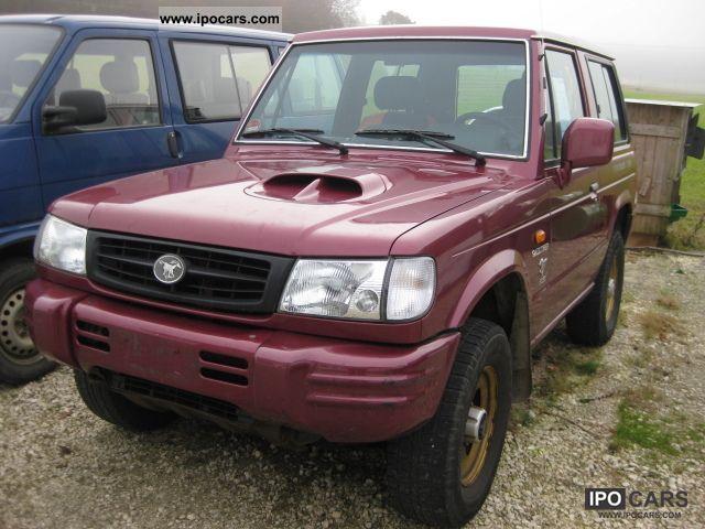 1998 Mitsubishi  Galloper 2.5 TD Exceed wheel rims Off-road Vehicle/Pickup Truck Used vehicle photo