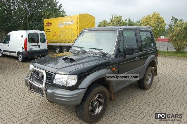 2001 Mitsubishi  Galloper 2.5 TD Exceed Off-road Vehicle/Pickup Truck Used vehicle 			(business photo