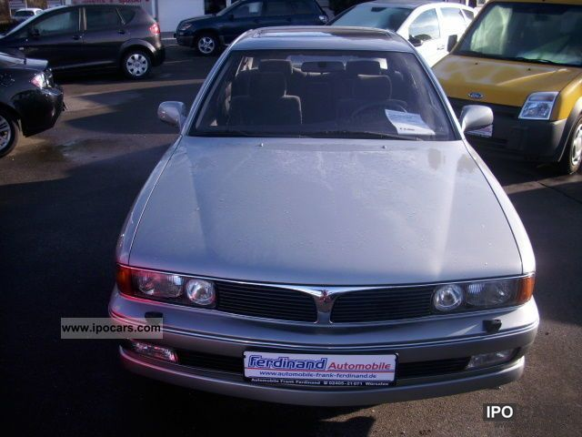 Mitsubishi  Sigma 3000 V6 12V / LPG gas system! Checkbook! 1992 Liquefied Petroleum Gas Cars (LPG, GPL, propane) photo