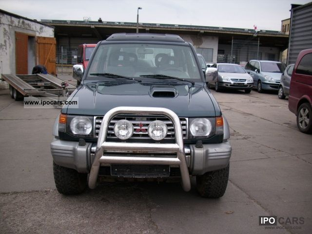 1997 Mitsubishi  Pajero 2800 TD Off-road Vehicle/Pickup Truck Used vehicle photo