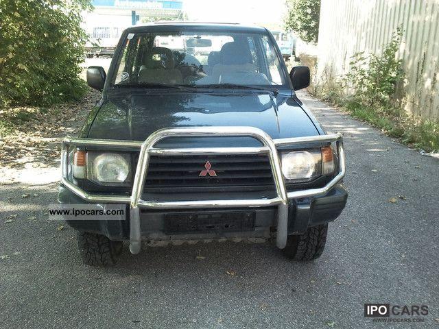 1995 Mitsubishi  Pajero 2500 TD GL / 4 x 4-WHEEL Off-road Vehicle/Pickup Truck Used vehicle photo