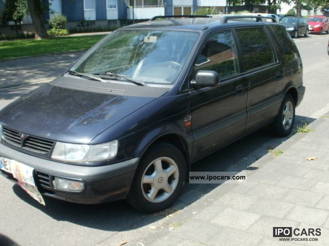 Mitsubishi  Space Wagon 7 SEATS, LPG, LEDERAUSSTATUNG, TUV 1999 Liquefied Petroleum Gas Cars (LPG, GPL, propane) photo