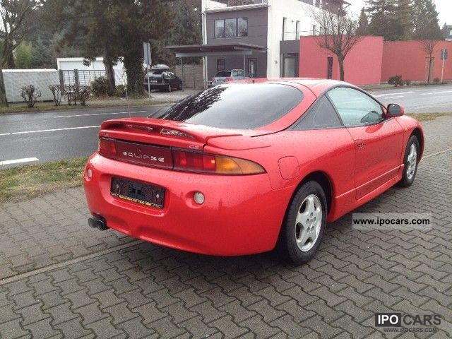 1999 Mitsubishi Eclipse 2000 Gs 16v Climate Ferrarirot Sports Car Coupe Used