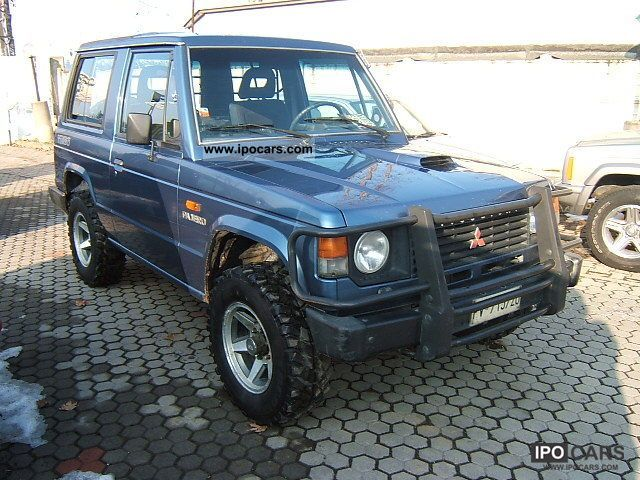 1989 Mitsubishi  2500 d turbo autocarro Off-road Vehicle/Pickup Truck Used vehicle photo