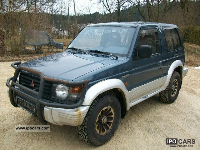 1995 Mitsubishi Pajero 2500 Td Gls Alloy Wheels Air