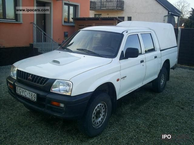 1999 Mitsubishi  L200 Pick Up 4x4 Off-road Vehicle/Pickup Truck Used vehicle photo
