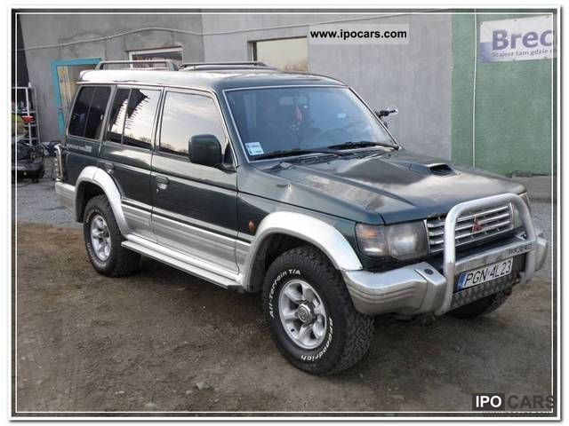 1995 Mitsubishi  7 osobowe Pajero, 2.8 TD, zarejestr. Off-road Vehicle/Pickup Truck Used vehicle photo