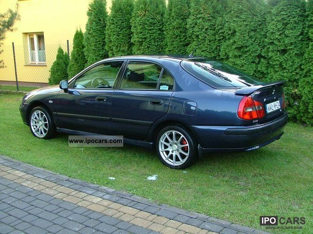 2002 Mitsubishi Carisma Avance Car Photo And Specs