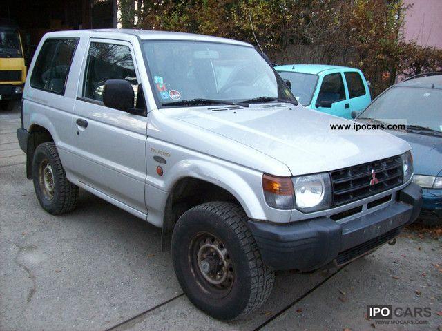 1999 Mitsubishi  Pajero 2500 TD GL Off-road Vehicle/Pickup Truck Used vehicle photo