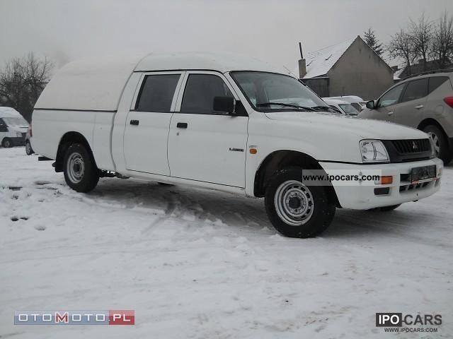 2001 Mitsubishi  L200 DOUBLE CAB Off-road Vehicle/Pickup Truck Used vehicle photo