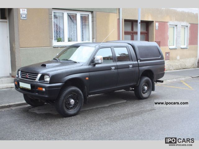 1997 Mitsubishi L200 Pick Up 4x4 Glx