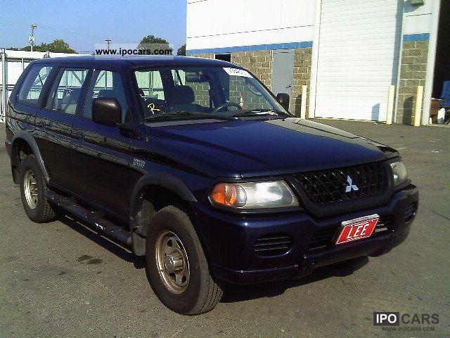 2002 Mitsubishi  MONTERO Limousine Used vehicle (business photo